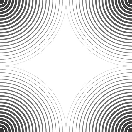 Background template for the poster, the circles on the water sight, vector wavy pattern curved slanting, twisted, wave d lines texture