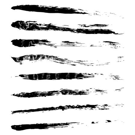 set of grunge paint brushes, vector brushes high resolution