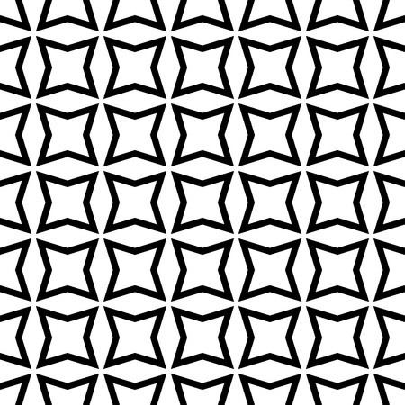 Seamless geometric pattern of polygons, vector geometric abstract background, ornament of polygons Ilustração