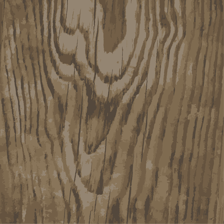 Texture of wooden planks to design advertising, vector fiber texture old wooden Board with cracks Ilustração