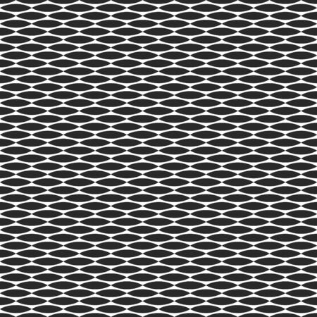 geometric seamless pattern flora horizontal leaf vector repeating geometric tiles from striped elements Illustration