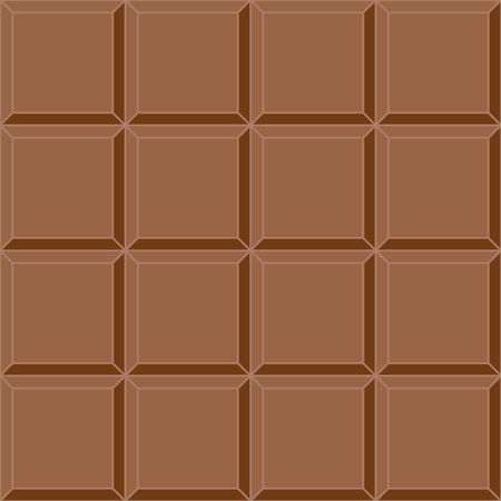 seamless background milk chocolate tile vector seamless delicious mouth watering chocolate bar Illustration