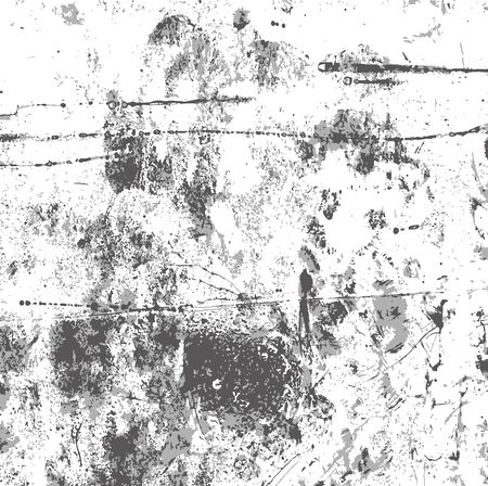 Transparent gray grunge texture black blots noise, vector grunge background to create vintage retro effect