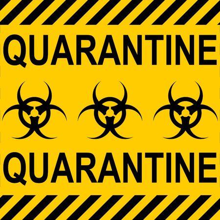 background yellow black stripes quarantine zone area Stop Coronavirus covid nCoV , vector quarantine isolation period, sequestration biohazard Sign biological activity threat alert