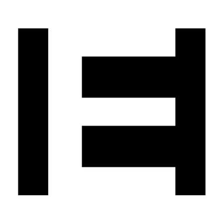 Simple elegant  letter e, vector Premium business  letter e, Graphic alphabetic symbol business corporate identity Ilustração