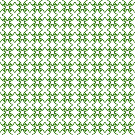 seamless guilloche background green, vector security grid for valuable documents, seamless guilloche grid pattern Illusztráció