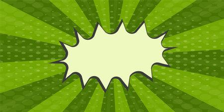 Pop art green watermelon comics book cartoon magazine cover. Cartoon watermelon funny retro pattern strip mock up. Vintage backdrop comic superhero text, speech bubble, message