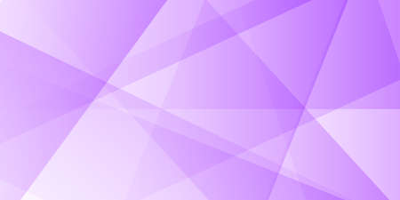 Banner background with pastel purple low poly design vector horizontal purple banner