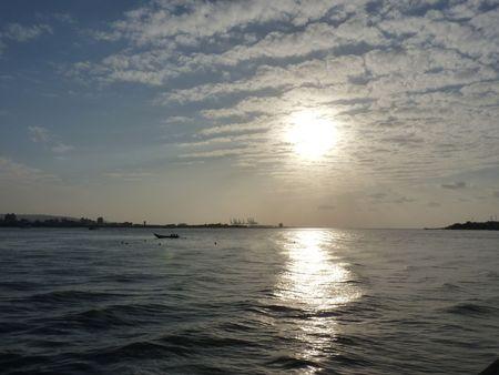 cloude: sun rise