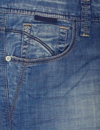 текстуры: Джинсовая нить строчки крупным планом. Швов на ткани. Фото со стока