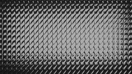 Cellular gray texture close-up. Texture of protective chain mail.