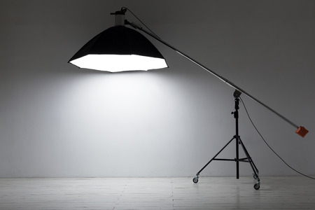 Equipment for photo studios and fashion photography 免版税图像