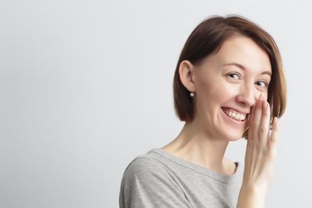 Girl with a smile shares the secret