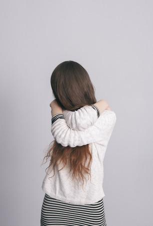 soledad: Fuerte sentido de la soledad Foto de archivo