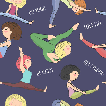 physical fitness: Difficult asanas and exercises for health and physical fitness