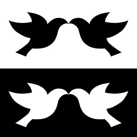 paloma de la paz: paloma pájaro vector ilustración paz