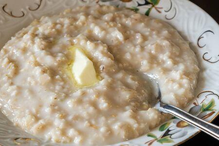 morning breakfast kitchen fresh natural oatmeal