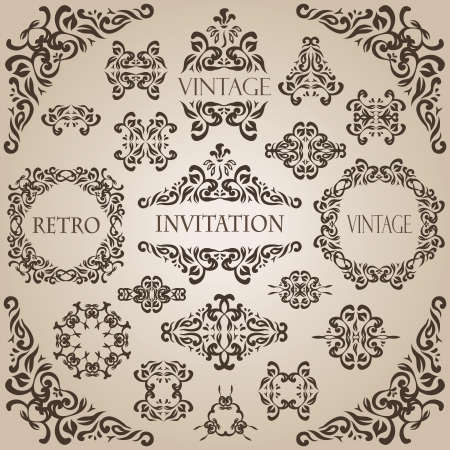 Vintage seamless wallpaper with a ribbon and frame. Can be used as greeting card           772ribbon; card; vintage; wallpaper; invitation; seamless; design; ornate; retro; banner; decor; style; pattern; label; luxury; gift; frame; decorative; abstract; t Vector