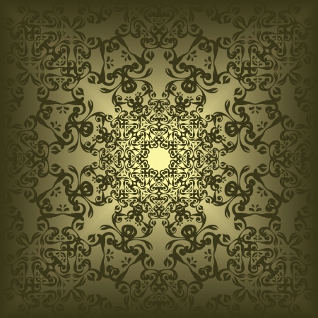 victorian scroll: Vintage lace seamless background. Retro style. Orignal design