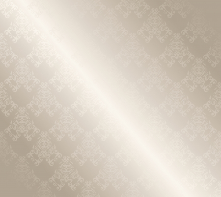 tela seda: Papel pintado pattern. Diseño de la vendimia