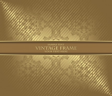 Vintage background. Luxury design          Vector