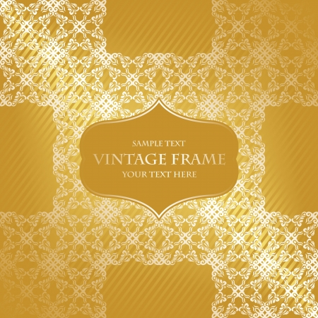 Vintage card or invitation. Vintage seamless background. Retro design, Pastel colors