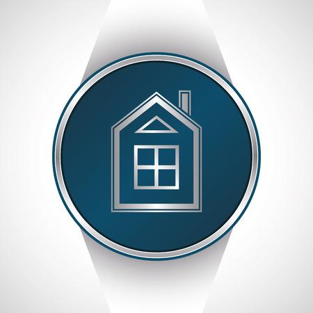 House icon button             Vector