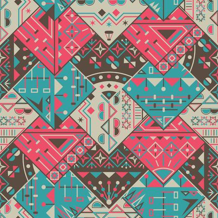 figuras abstractas: Efecto abstracto colorido triángulo patrón de fondo. Figuras geometricas