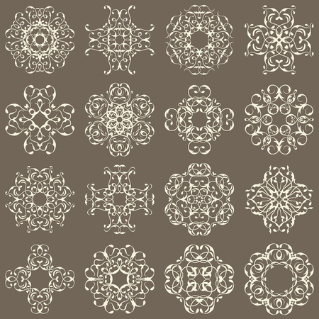 scroll design: Set of ornate vector ornaments. Can be used for decoration