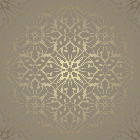 Seamless wallpaper with vintage ornament. Luxury background