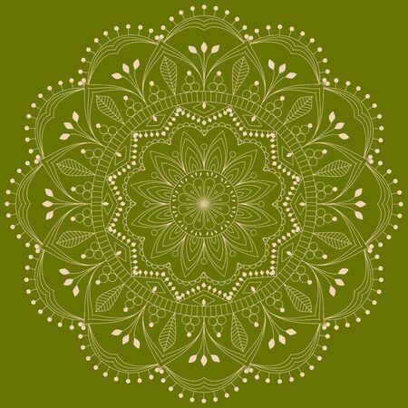 - Beautiful Mandala Circle For Mehndi, Tattoo Coloring Book Meditation,..  Royalty Free Cliparts, Vectors, And Stock Illustration. Image 137336066.