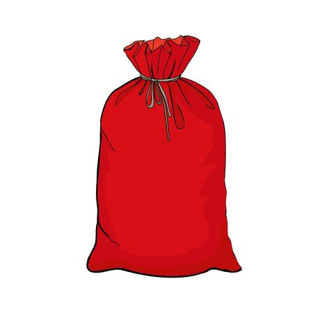 Hand drawn cartoon style shopping bags design