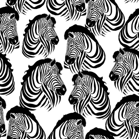 Zebra pattern, illustration, animal. Çizim