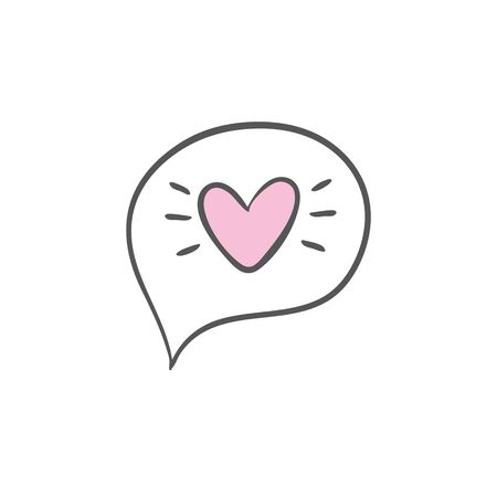 the heart icon. Illustration of the logo element. the heart design. color collection. the concept of the heart. 일러스트