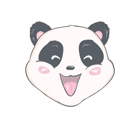 Cute Panda, animal, Vector, illustration
