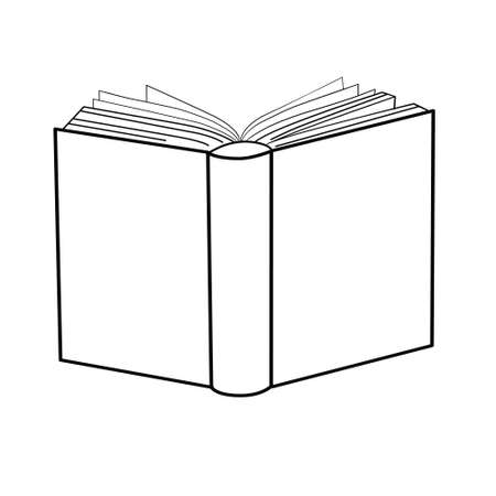 sketches of books. Vector illustration. 版權商用圖片 - 154688509