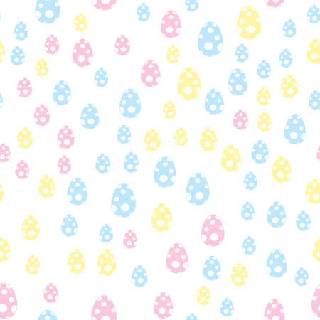 Fun Graphic Easter Egg Pattern