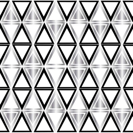 Black pattern triangle on white background.