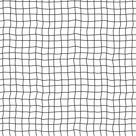 Seamless checkered pattern. Lattice geometric texture. Vector art.