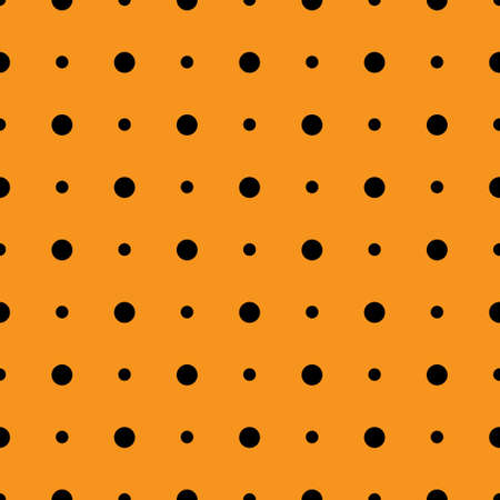 orange and black chevron pattern, seamless texture background. Vector illustration.