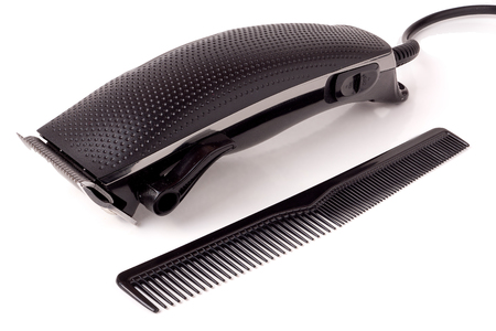hair clippers: hair clipper isolated on white background.