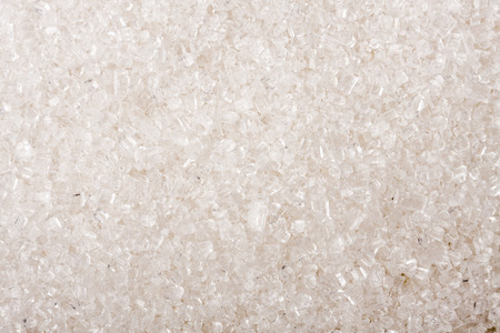granulated: granulated sugar as a background close-up macro. Stock Photo