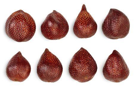 Salak snake fruit isolated on white background Reklamní fotografie
