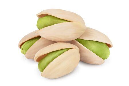 pistachio isolated on white background Reklamní fotografie
