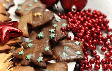 Boże Narodzenie pierniki ciastka szkliwione