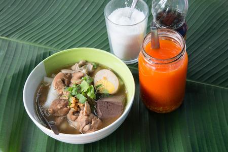 jab: Guay Jab chinese noodle Stock Photo