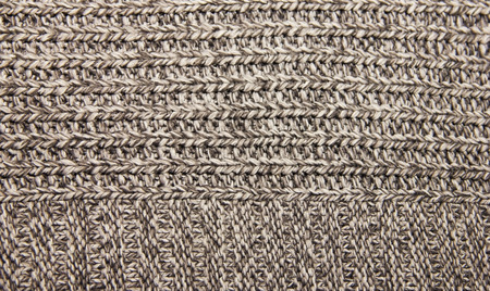 plain stitch: gray knitted wool knitted warm clothes for the winter fabric texture background