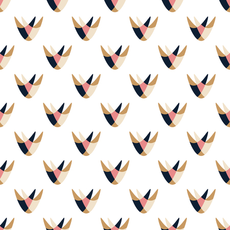 Abstract Seamless Pattern. Geometric shapes seamless vector pattern.