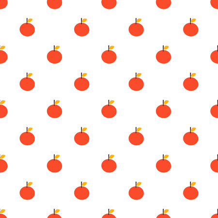 Vector seamless pattern of apple