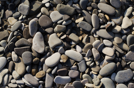 background of large pebbles on the beach Reklamní fotografie